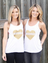 Heart Bridesmaid Tank Top 2