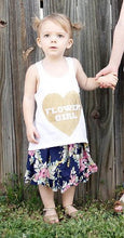 Heart Flower girl tank top 2