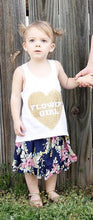 Heart Flower girl tank top 1