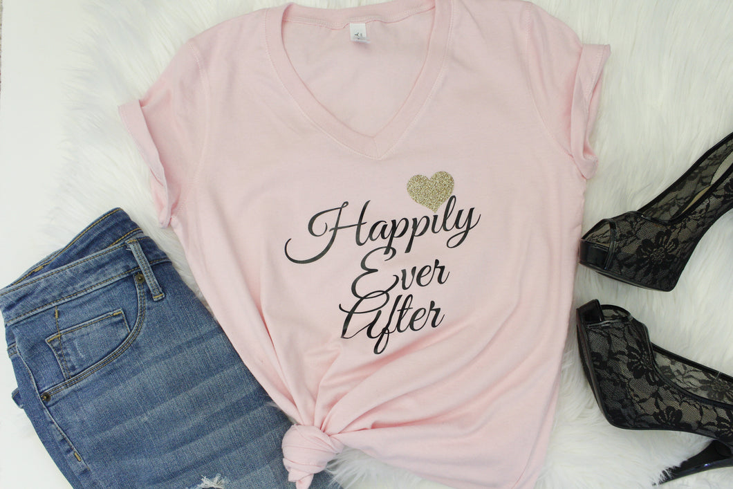 Happily Ever After Shirt - Arenlace Bridal Boutique