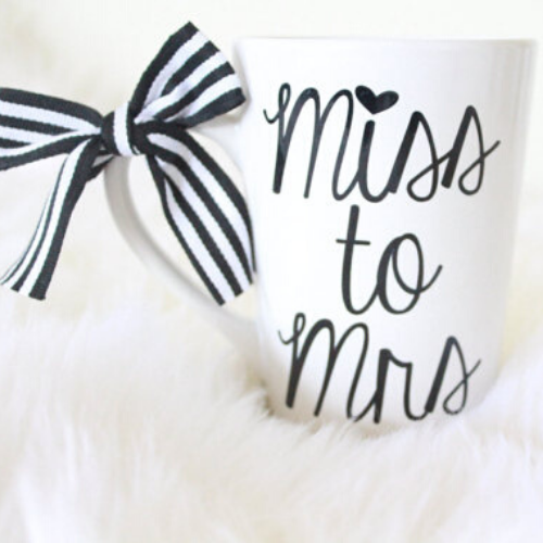 Miss to Mrs Coffee Mug