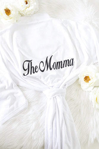 Personalized robe for Mom