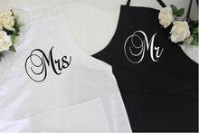 Mr and Mrs Aprons - Arenlace Bridal Boutique