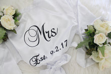 Mr and Mrs Robe Set Just Mrs