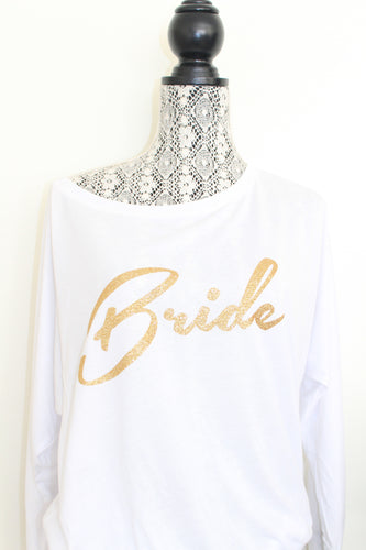 Bride Graphic tee - Arenlace Bridal Boutique