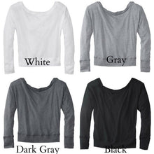 Engaged Off The Shoulder Shirt Color Options