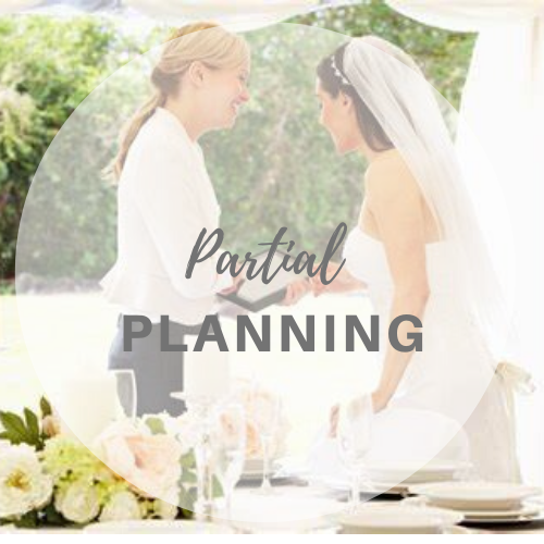 Partial Planning Wedding Planning Package