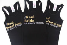 The Real Bridal Entourage Ribbed Tank Top - Arenlace Bridal Boutique