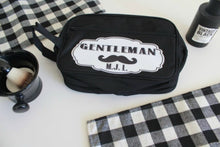 Gentleman's Monogram Toiletry Bag