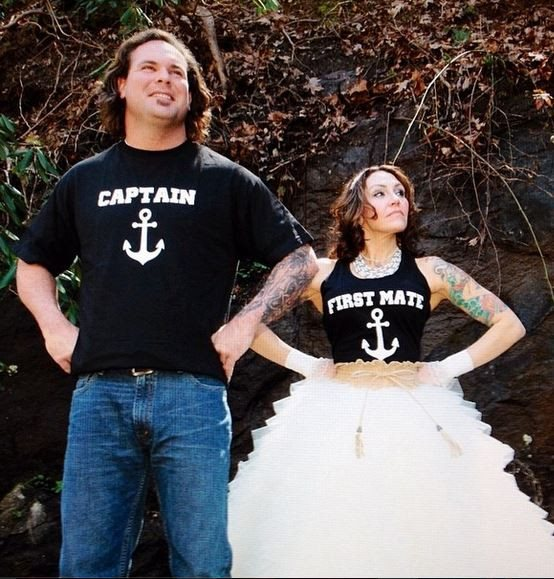 Mr and Mrs Nautical Shirts