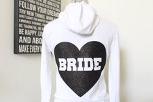 I DO Bride Hoodie Bride Shot