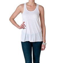 Heart Bridesmaid Tank Top plain