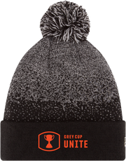 Grey Cup Unite- NE Speckled Pom Knit- BC Lions