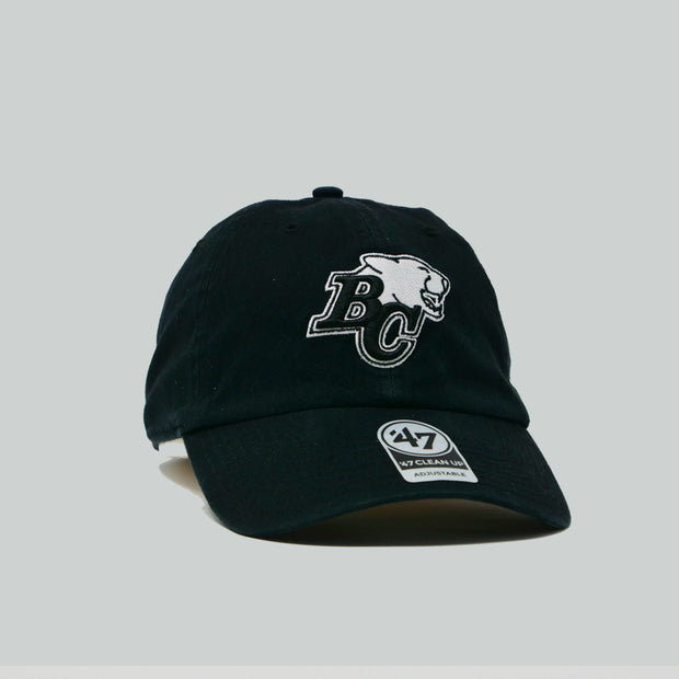 '47 Brand Clean Up Blk & Wht Hat