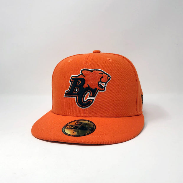 NE 59Fifty Primary Sideline Fitted Hat- Orange