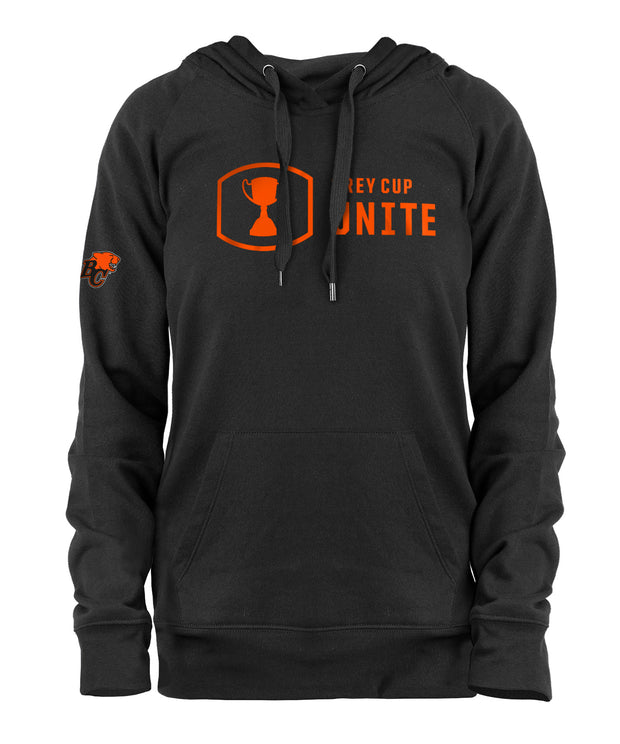 Grey Cup Unite- NE Women's Pullover Hoody- BC Lions
