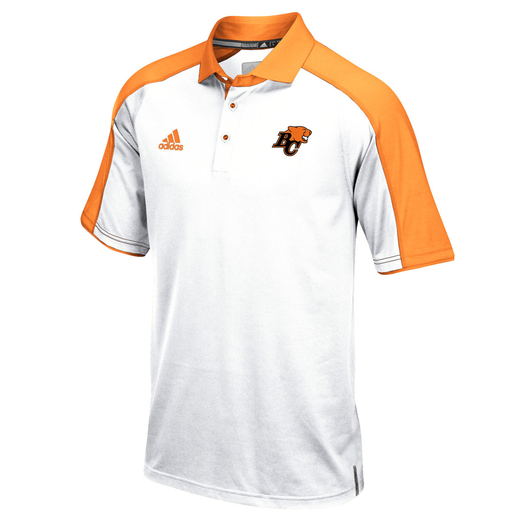 adidas Coaches S/S Polo- WHT