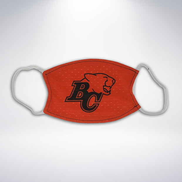 BC Lions Reversible Jersey Face Mask
