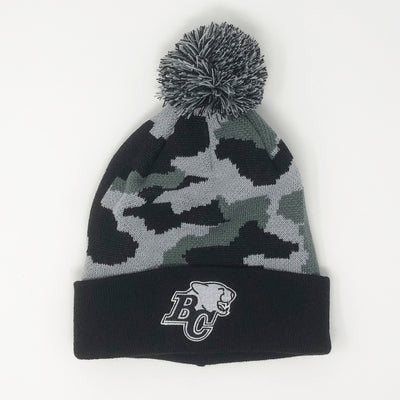 American Needle Black Camo Knit