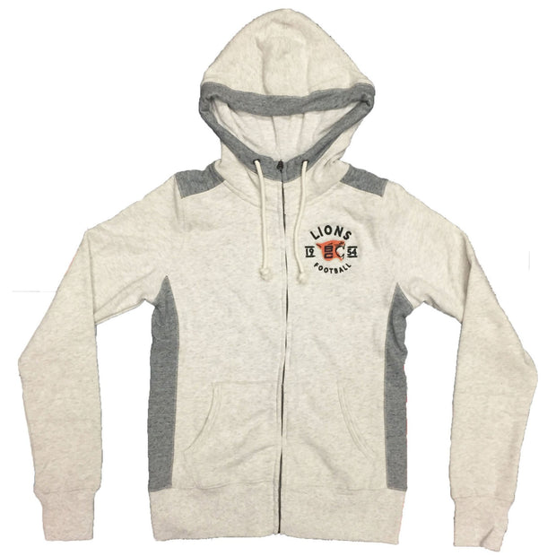 Campus Crew W Full Zip Retro Growl Hoody