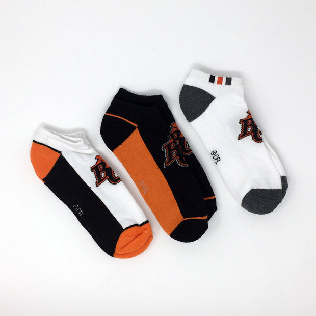 Gertex 3 Pack Terry No Show Socks