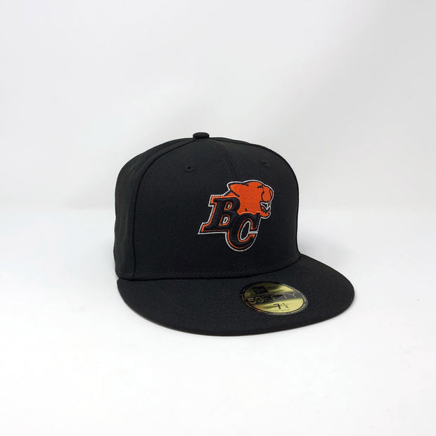 NE 59Fifty Primary Sideline Fitted Hat- Black