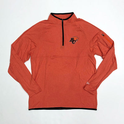 NE Brushed 1/4 Zip Pullover