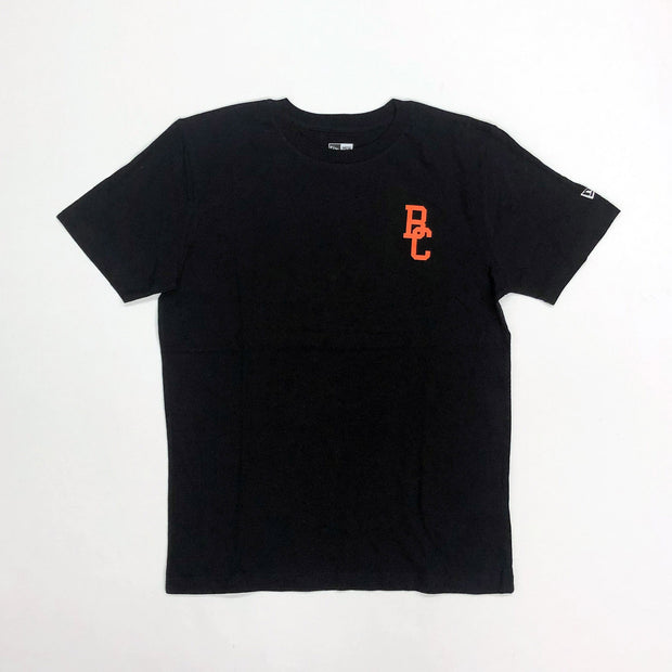 NE L/C Brushed BC Tee- Black