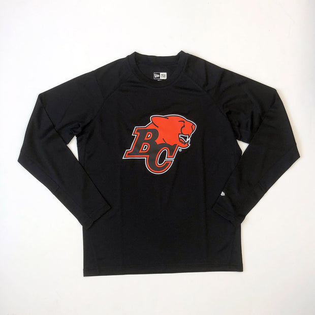 NE L/S Performance Tee- Black