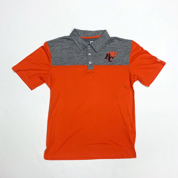 NE Primary Polo- Orange