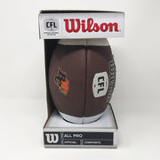 Wilson BC Lions Full Size Replica Football