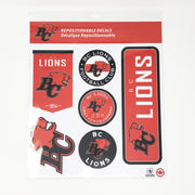 Repositional Decal Set- Team