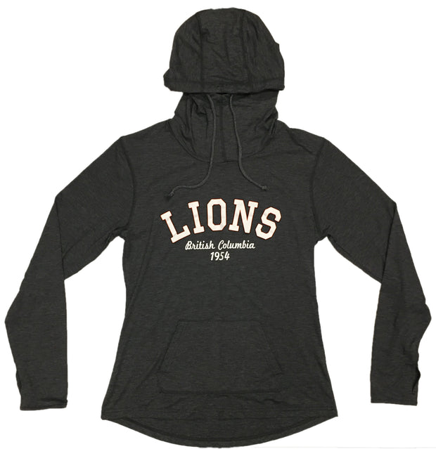 Campus Crew W High Neck Hoody