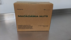 Treat Of The Day! Raw Macadamia Nuts - 25lb Case
