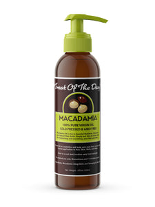 Treat Of The Day! Macadamia Oil 8oz