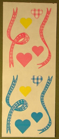 Baby Hearts and Ribbons Stickers by Creative Memories