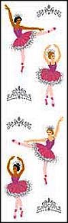 Ballerinas (Refl) Stickers by Mrs. Grossman's