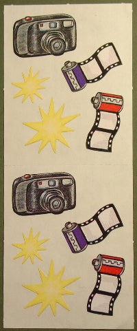 Camera and Film Stickers by Creative Memories
