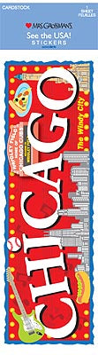 Chicago (Cardstock) Stickers by Mrs. Grossman's