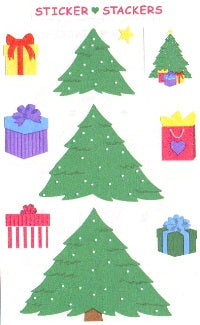 Christmas Tree Stickers by Mrs. Grossman's