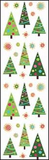 Fun Christmas Trees (Refl) Stickers by Mrs. Grossman's