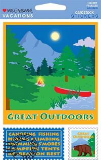 Great Outdoors (Cardstock) Stickers by Mrs. Grossman's