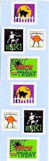 Halloween Stamps Stickers by Mrs. Grossman's