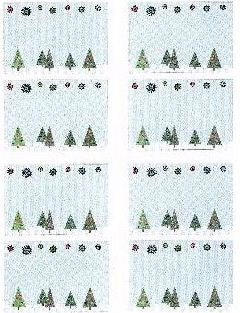 Christmas Trees Stickers by Mrs. Grossman's