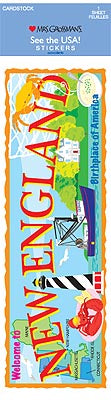New England (Cardstock) Stickers by Mrs. Grossman's