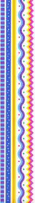 Primary Zig Zag DL Stickers by Mrs. Grossman's