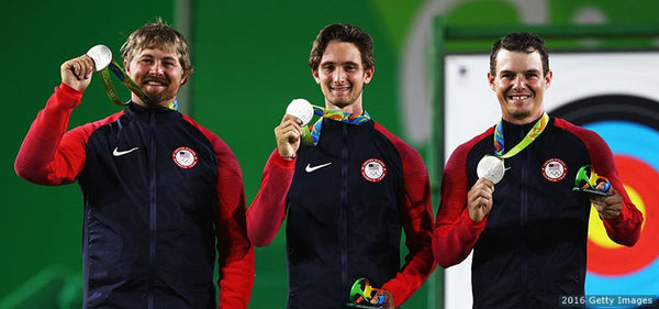 U.S. Men's Archery Team Honored To Win Second Straight Olympic Silver