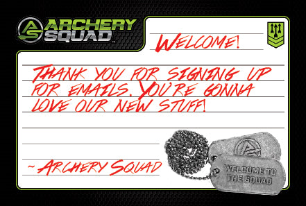 Archery Squad Welcome Note