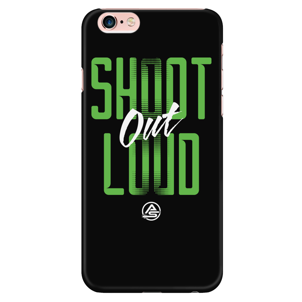 iPhone 6 Plus/6s Plus Case - Shoot Out Loud Green - Archery Squad