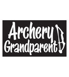 Archery Grandparent Decal Sticker